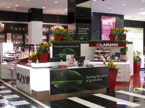 New Clarins Counter Unveiled at Bloomies 59th Street