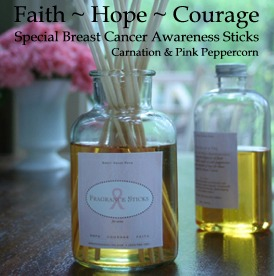 Sweet Grass Farm Hope, Courage & Faith Fragrance Stick Set