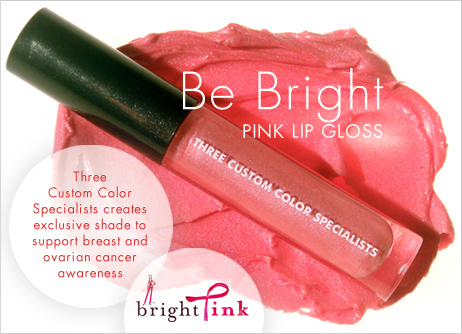 Three Custom Color Specialists: Be Bright Pink Lip Gloss