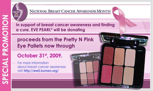 Breast Cancer Awareness Month: Eve Pearl Pretty N Pink