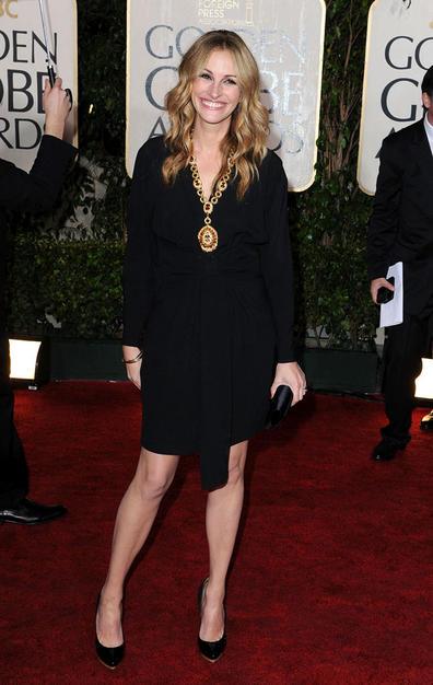 Golden Globes Makeup: Julia Roberts