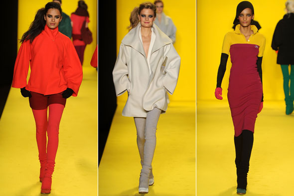 ThisThatBeauty's Exclusive Coverage of Mercedes-Benz Fashion Week Fall/2010: Lacoste channels Benetton