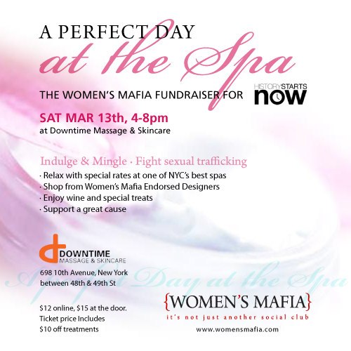 Spa Treatments and a Worthy Cause