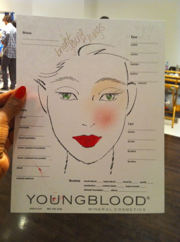 ThisThatBeauty's Back from The Tents: Exclusive Coverage of Mercedes Benz Fashion Week S/S11 (New York) – My video interview with James Vincent (Youngblood Cosmetics) for Bright Young Things