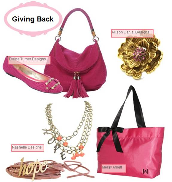 Breast Cancer Awareness Coverage 2010: Elaine Turner, Allison Daniel Designs, Nashelle Designs, Meray Arnett