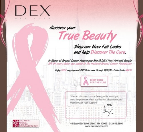 Breast Cancer Awareness Coverage 2010: DEX New York