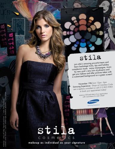 Stila Holiday Preview at the Shops at Columbus Circle