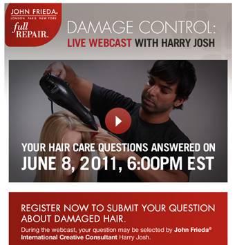 "John Frieda ""Damage Control"" Webcast"