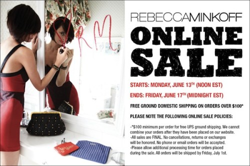 Ready. Set. Go! Rebecca Minkoff Online Sale