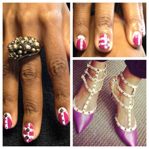 TTB Rocks Stud Mani by Miss Pop