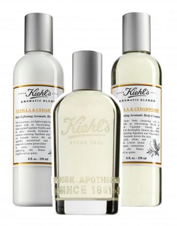 Keihl's Vanilla & Cedarwood Range