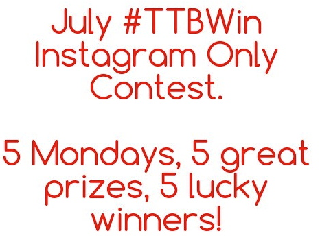 TTBWin Instagram Only Contest